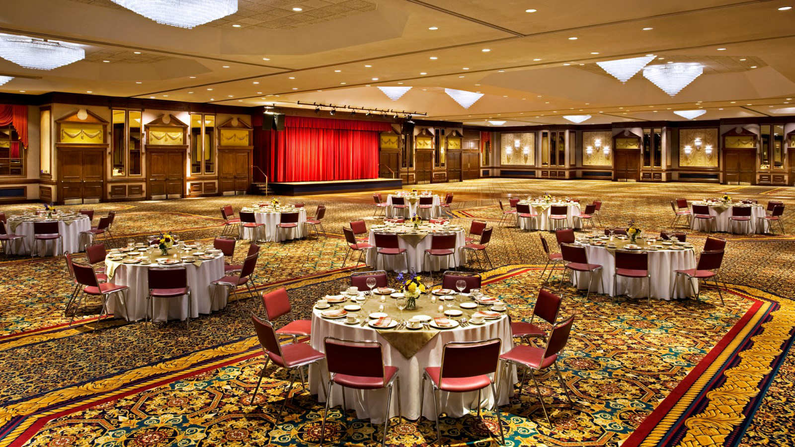 Koury Convention Center - Imperial Ballroom